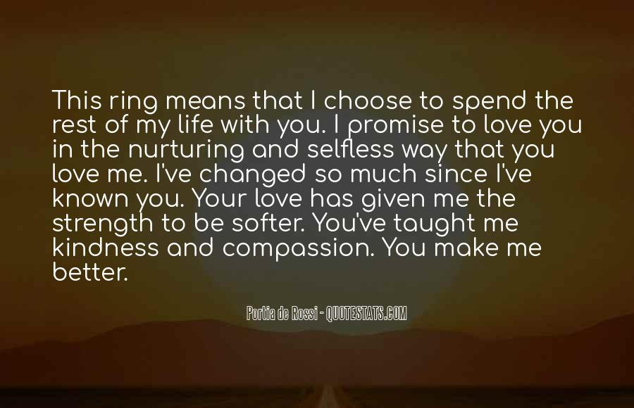 Promise Me You Love Me Quotes #328246