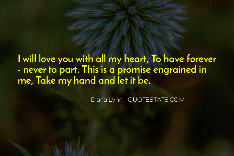 Promise Me You Love Me Quotes #906475