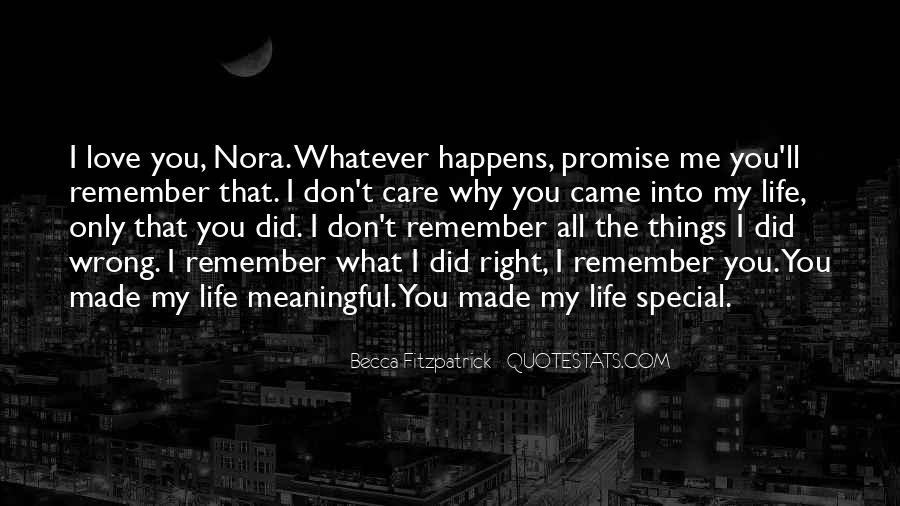 Promise Me You Love Me Quotes #917960