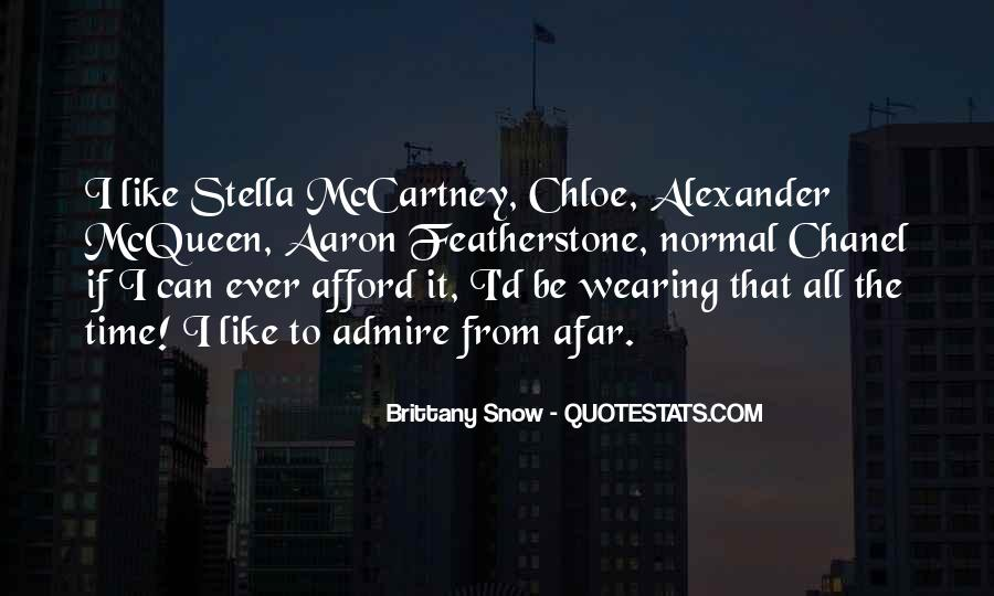 Quotes About Stella Mccartney #148782