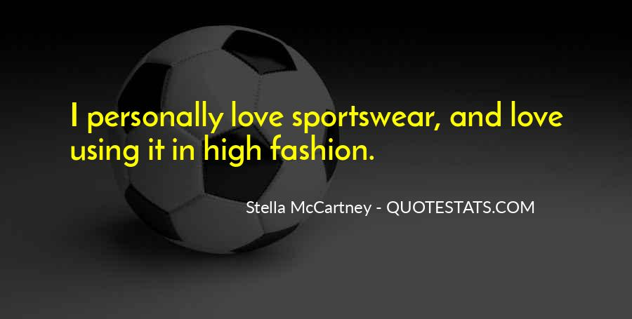 Quotes About Stella Mccartney #649693