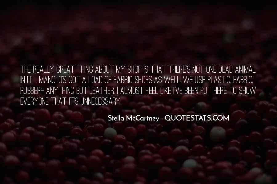 Quotes About Stella Mccartney #693094