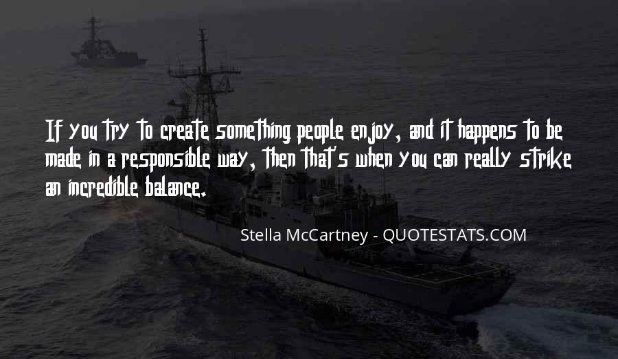 Quotes About Stella Mccartney #768524