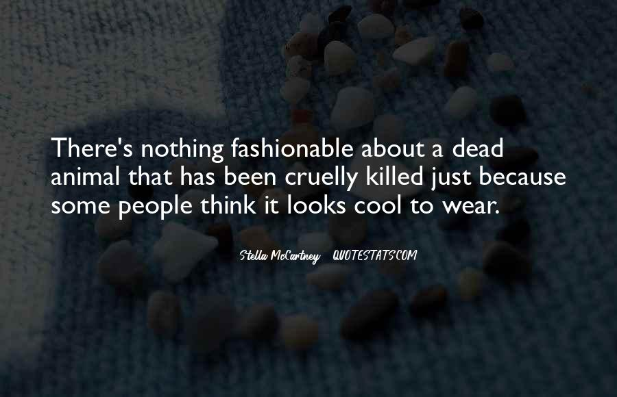Quotes About Stella Mccartney #858252