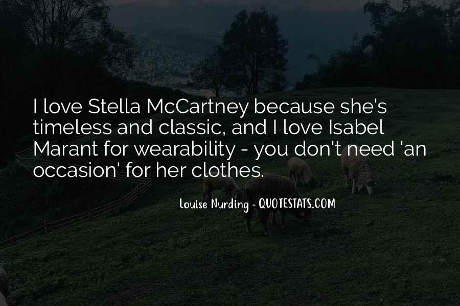 Quotes About Stella Mccartney #898412