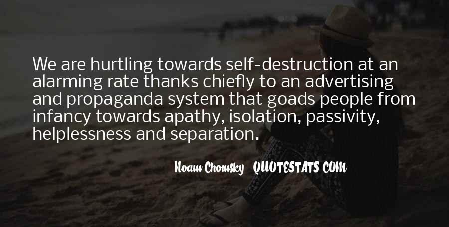 Propaganda Noam Chomsky Quotes #1107641
