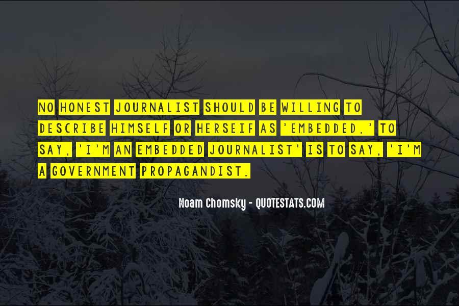 Propaganda Noam Chomsky Quotes #1369514