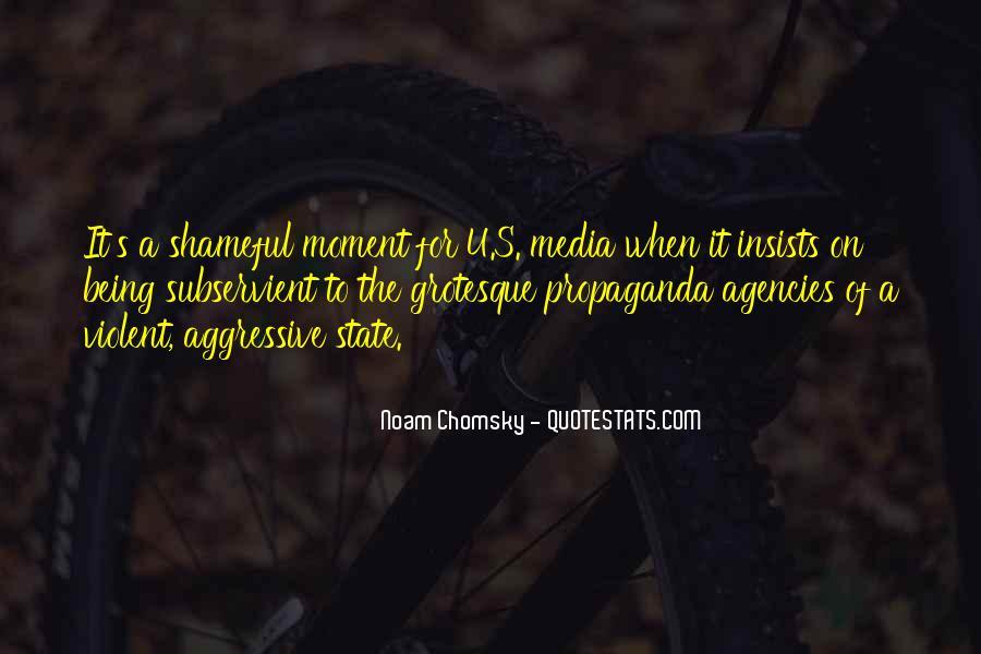 Propaganda Noam Chomsky Quotes #1395548