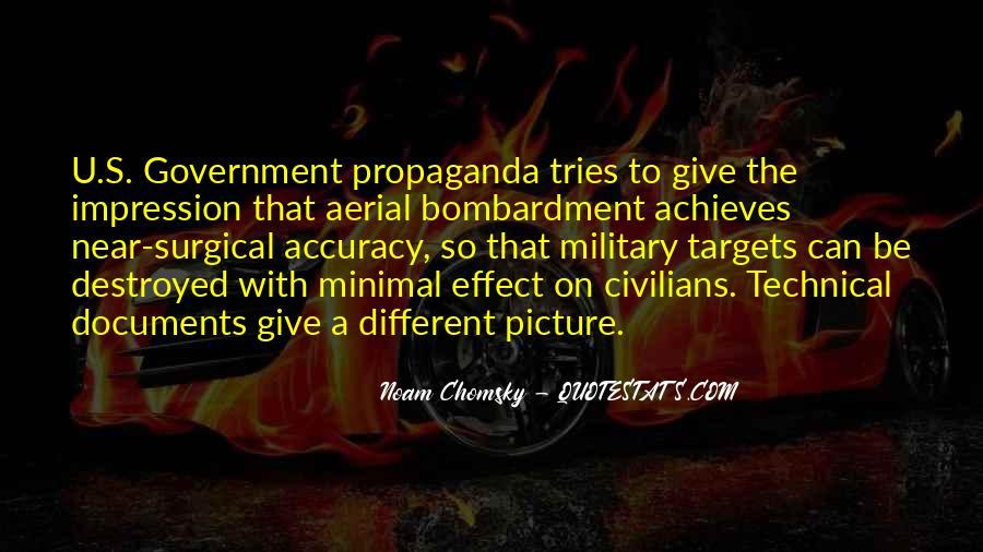 Propaganda Noam Chomsky Quotes #1549764