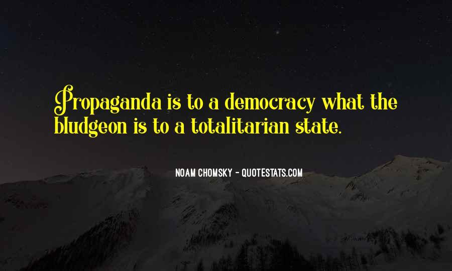Propaganda Noam Chomsky Quotes #1691202