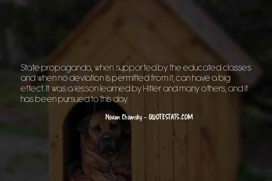 Propaganda Noam Chomsky Quotes #255673