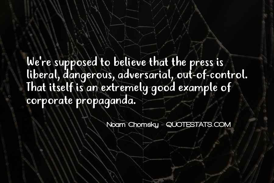 Propaganda Noam Chomsky Quotes #595051