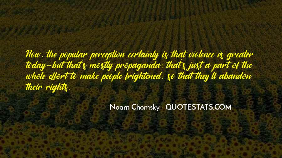 Propaganda Noam Chomsky Quotes #644658