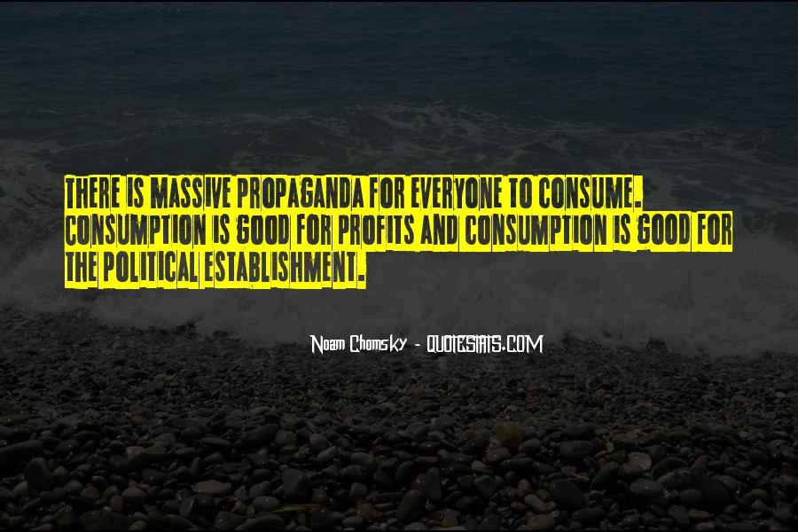 Propaganda Noam Chomsky Quotes #837764