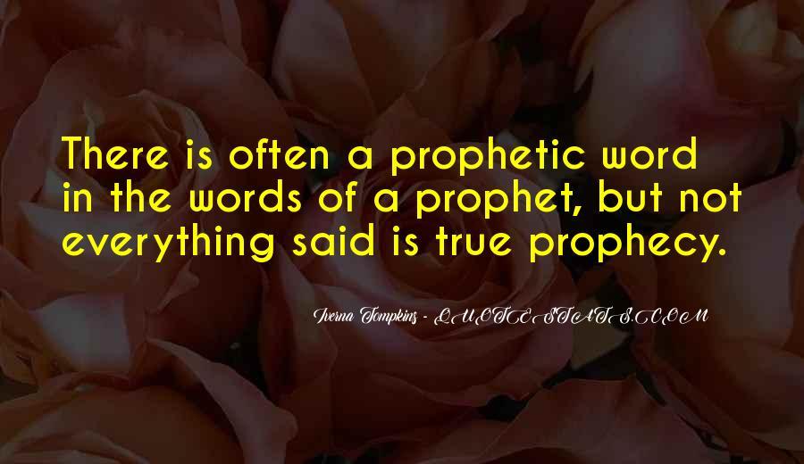 Prophecy 2 Quotes #103553