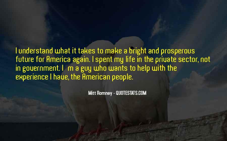 Prosperous Life Quotes #1207383