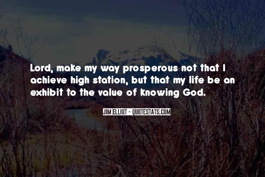 Prosperous Life Quotes #1258874