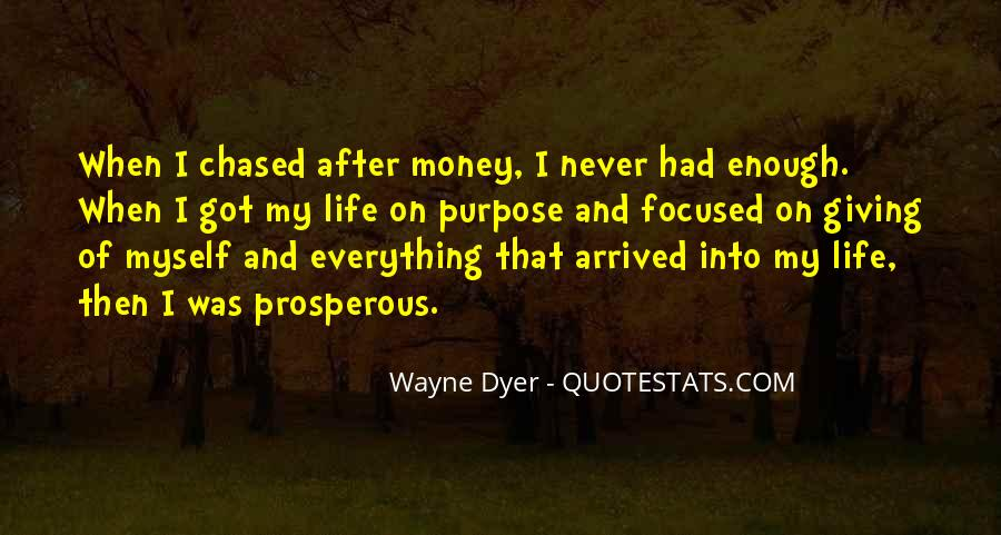 Prosperous Life Quotes #1267399