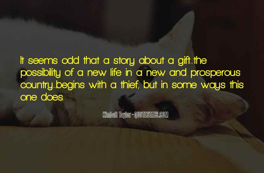 Prosperous Life Quotes #134561