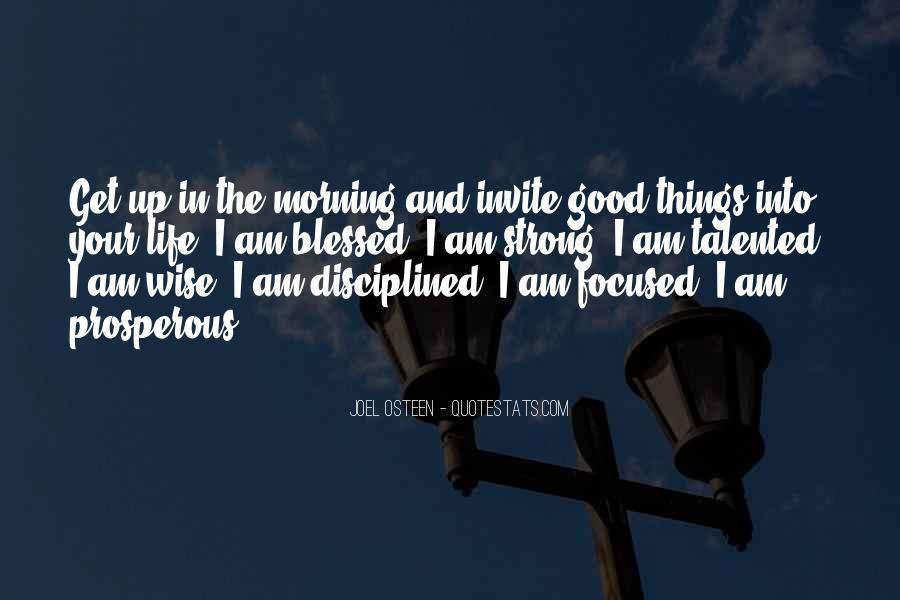 Prosperous Life Quotes #1816224