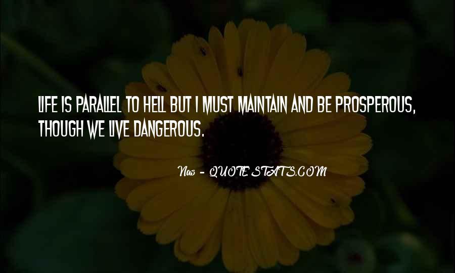Prosperous Life Quotes #406102