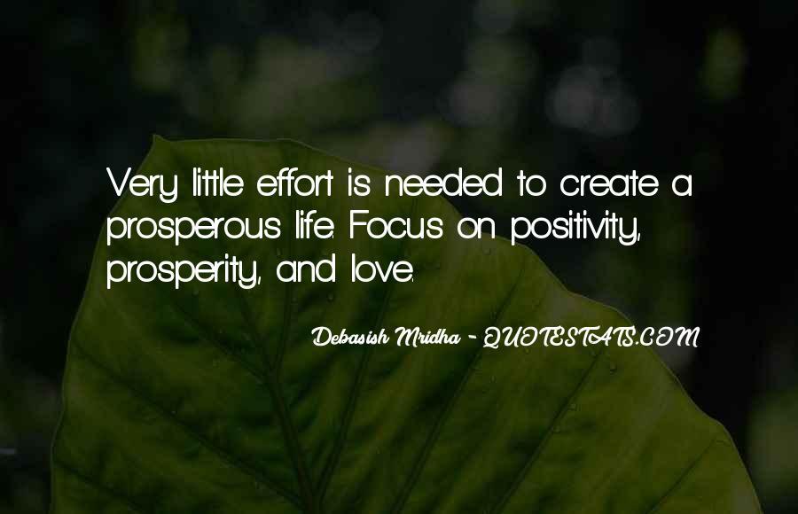 Prosperous Life Quotes #431368