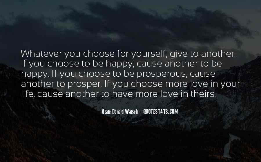 Prosperous Life Quotes #458946