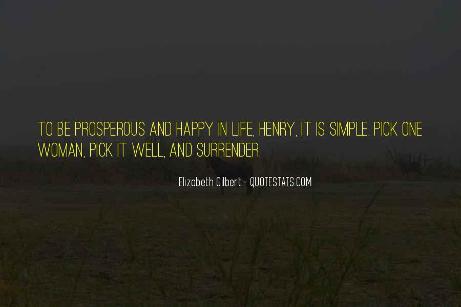 Prosperous Life Quotes #525863