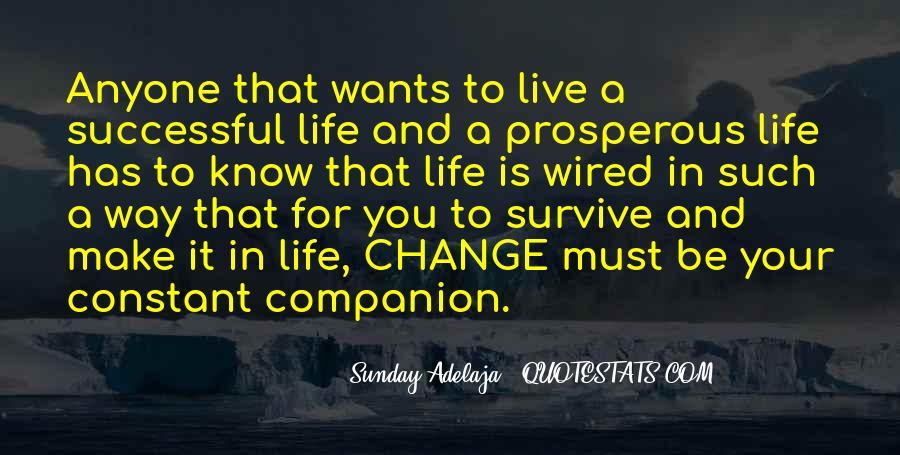 Prosperous Life Quotes #653571