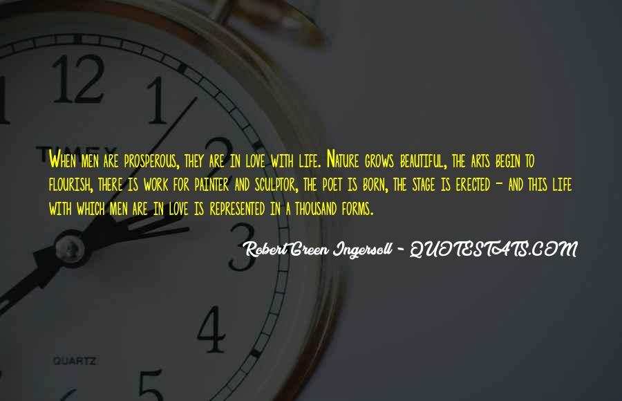 Prosperous Life Quotes #709021
