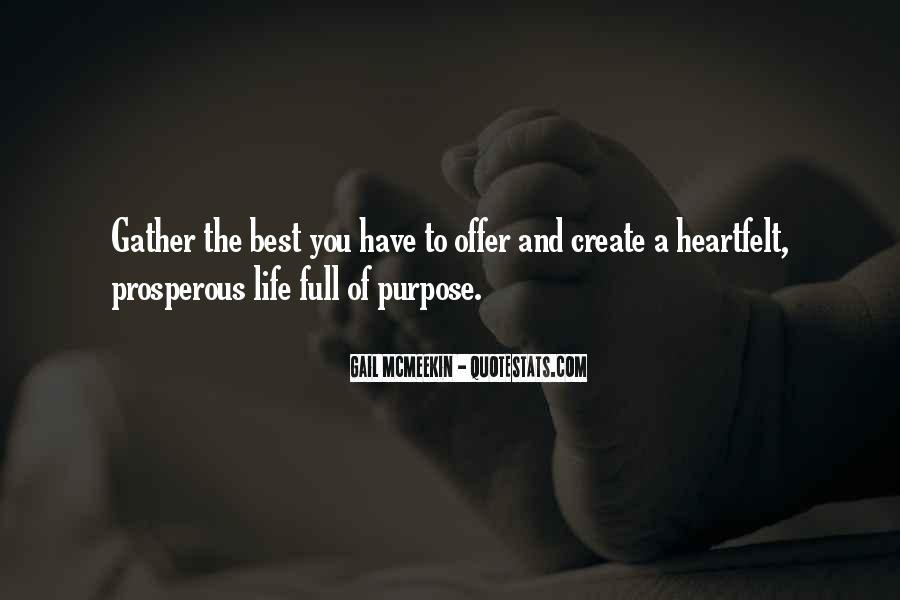 Prosperous Life Quotes #967402