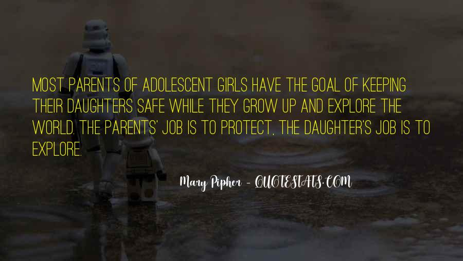 Protect Daughter Quotes #1142211