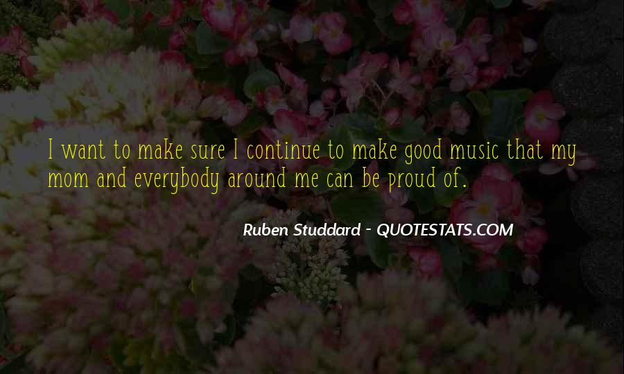 Proud Of Mom Quotes #1504314