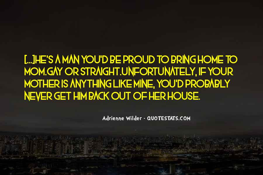 Proud Of Mom Quotes #799278