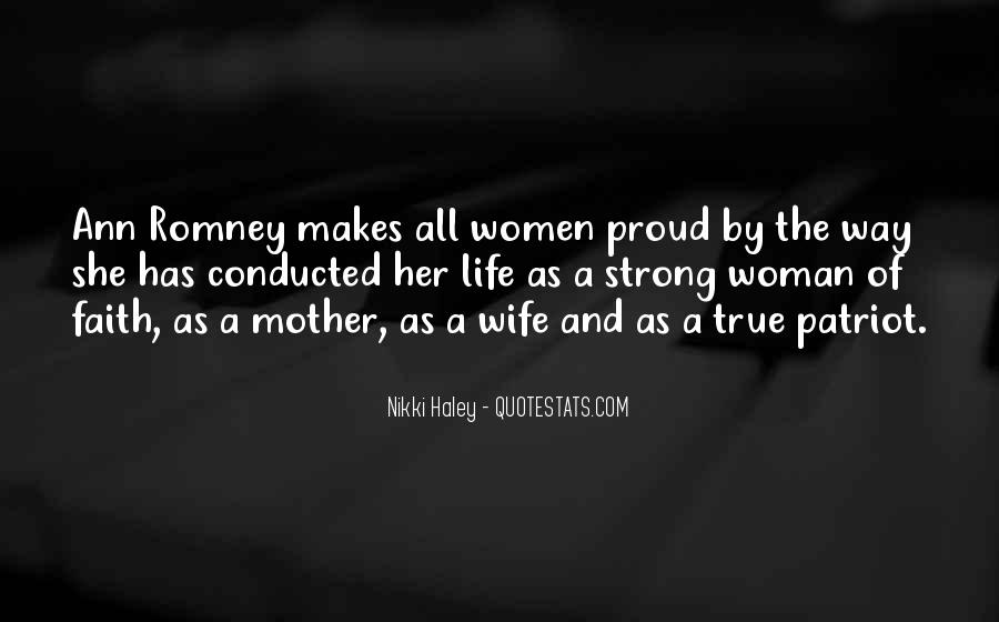 Proud Of My Wife Quotes #664413