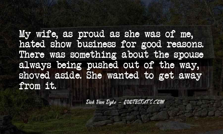 Proud Of My Wife Quotes #689767