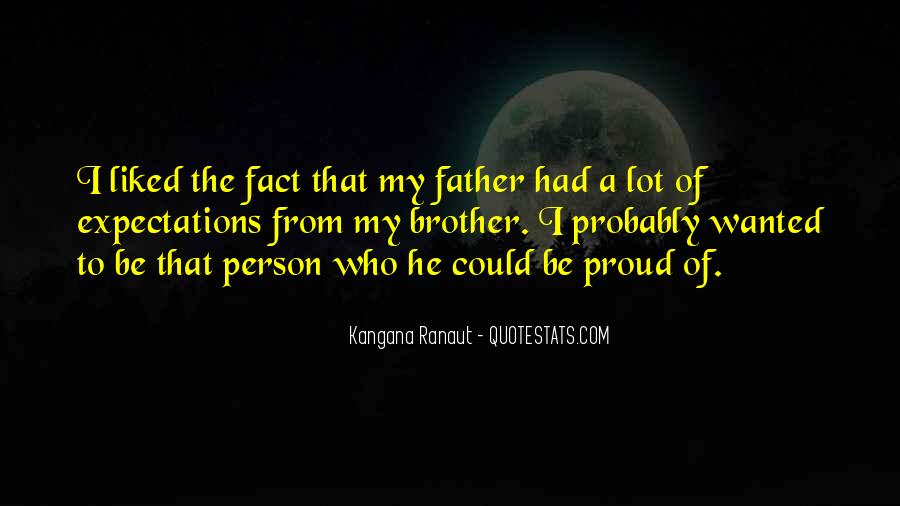 Proud Of You Brother Quotes #1114049