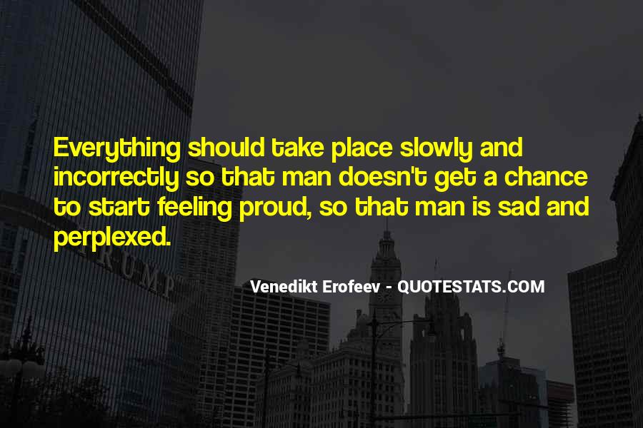 Proud Of Your Man Quotes #130831