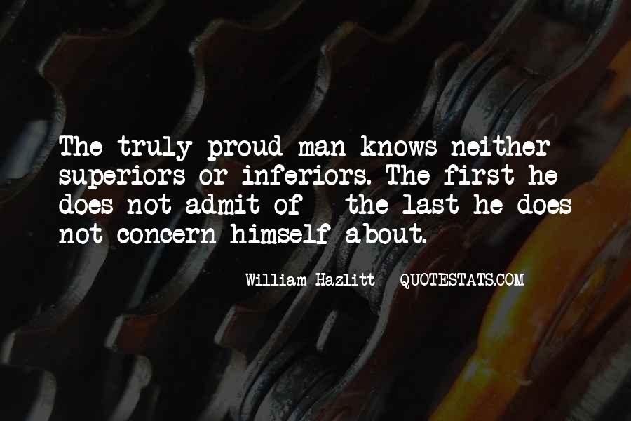 Proud Of Your Man Quotes #55602