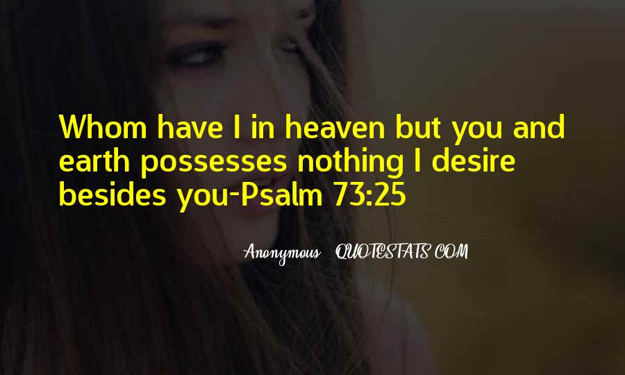 Psalm 73 Quotes #49611