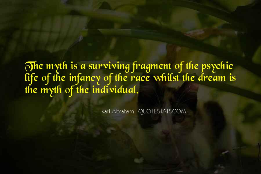 Psychic Dream Quotes