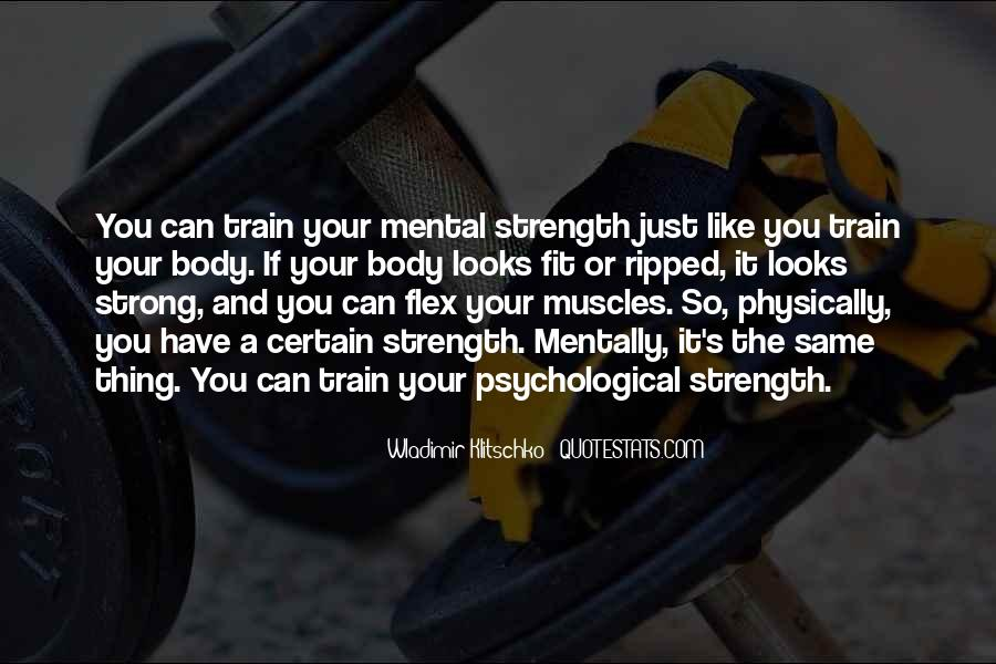 Psychological Strength Quotes #681729