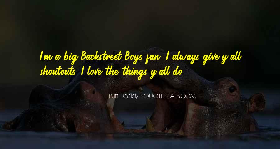 Puff Daddy Love Quotes #1517520