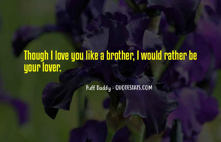Puff Daddy Love Quotes #842162