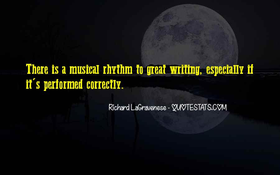 Quotes About Rhythm #102811