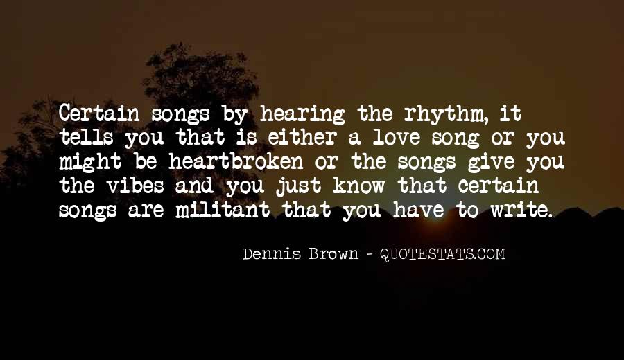 Quotes About Rhythm #107020