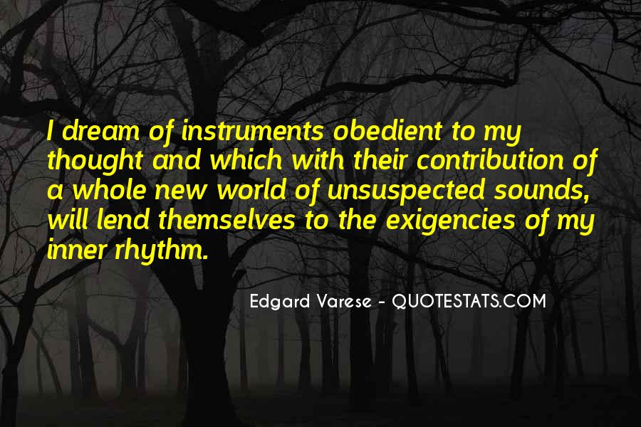 Quotes About Rhythm #121289