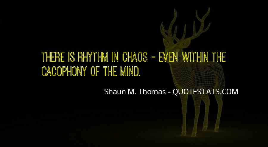 Quotes About Rhythm #126475