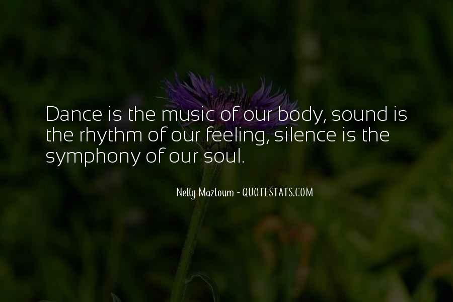 Quotes About Rhythm #2758