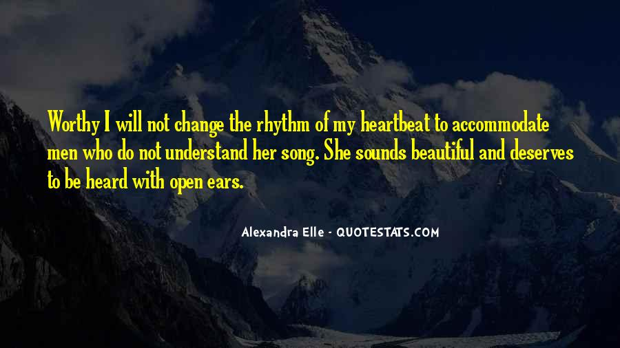 Quotes About Rhythm #45261